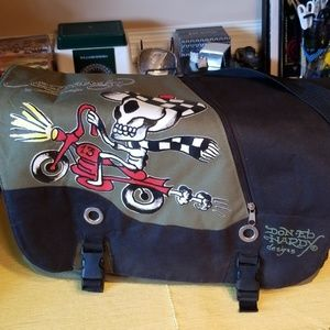 Don ED Hardy,  messenger bag  Unisex